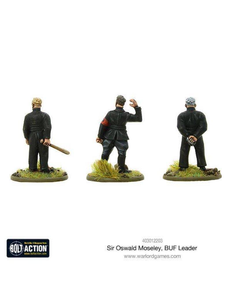 Warlord Games German Sir Oswald Moseley, BUF Leader (SPLASH RELEASE)
