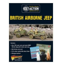 Warlord Games Airborne Jeep & Trailer