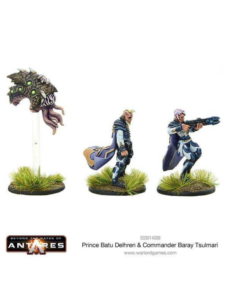 Warlord Games Freeborn Prince Batu Delhren & Commander Baray Tsulmari
