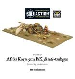 Warlord Games German Afrika Korps 5cm PaK 38 anti-tank gun
