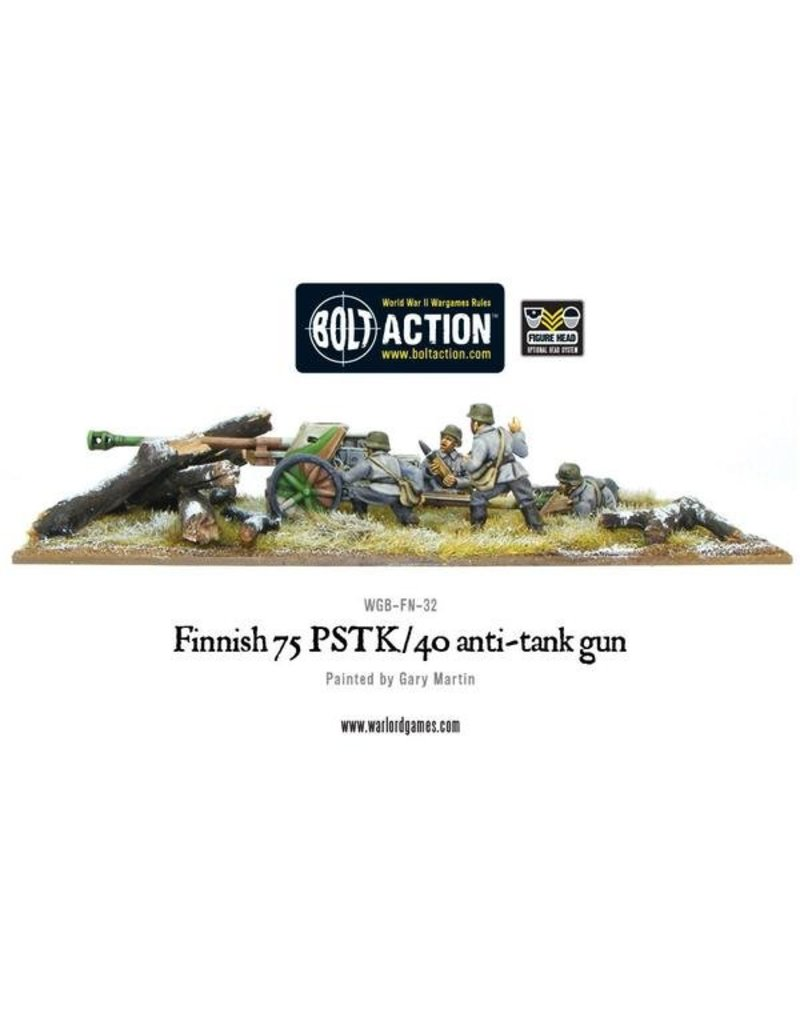Warlord Games Finnish Army 75 PSTK/40 Anti-Tank Gun