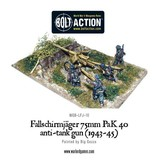 Warlord Games German Fallschirmjager 75mm PaK 40 Anti-tank Gun