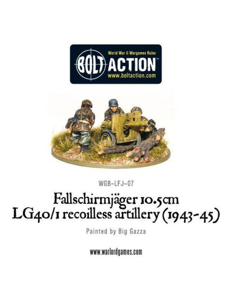 Warlord Games German Fallschirmjager 10.5cm LG40/1 Recoilless Artillery