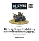 Warlord Games Blitzkreig German Kradschutzen Motorcycle Combination