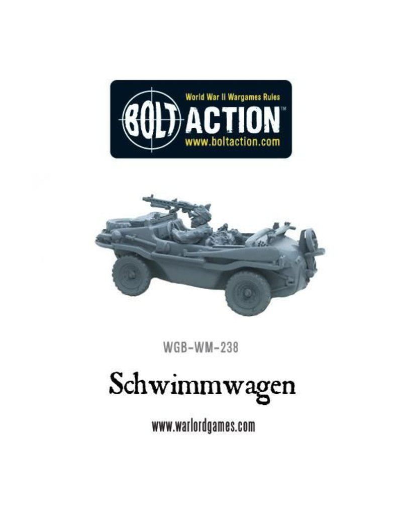 Warlord Games German Schwimmwagen with stowage