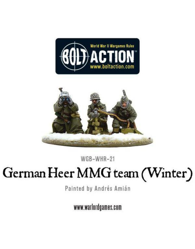 Warlord Games German Heer MMG team (Winter)