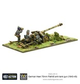 Warlord Games German Heer 75mm PaK 40 Anti-tank Gun