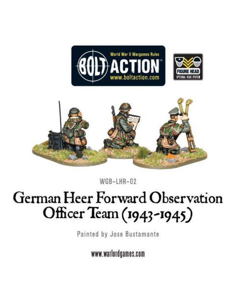 Warlord Games German Heer Forward Observation Team (FOO)