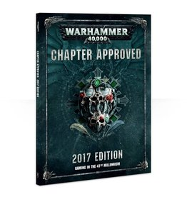 Games Workshop Warhammer 40000: Chapter Approved (2017 Edition)