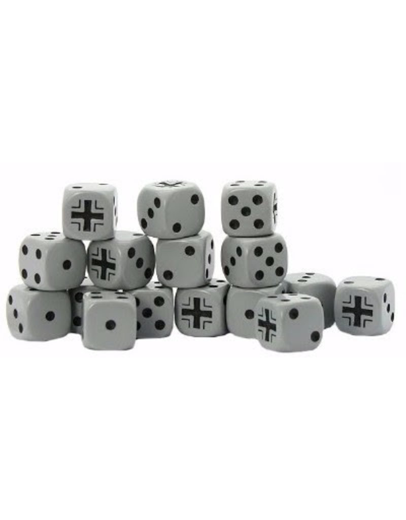 Warlord Games German Balkenkreuz D6 Dice (16)