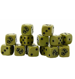 Warlord Games US Marine D6 Dice