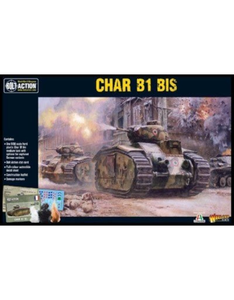 Warlord Games French Char B1 bis Tank