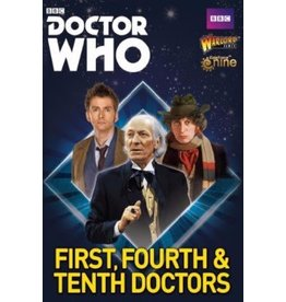 Warlord Games The First, Fourth & Tenth Doctors
