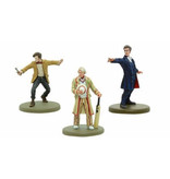 Warlord Games Fifth, Eleventh & Twelfth Doctors Resin Models