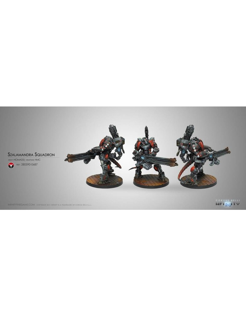 Corvus Belli Nomads Szalamandra Squadron Box Set