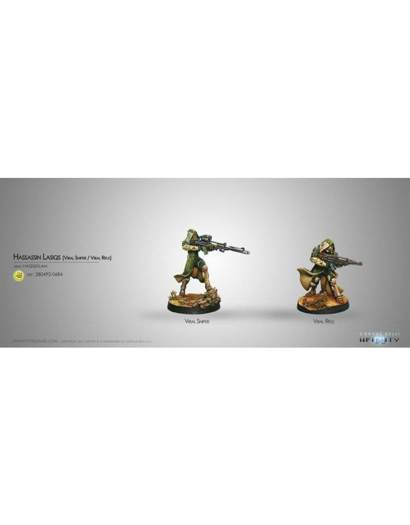 Corvus Belli Haqqislam Hassassin Lasiqs (Viral Sniper / Viral Rifle) Blister Pack
