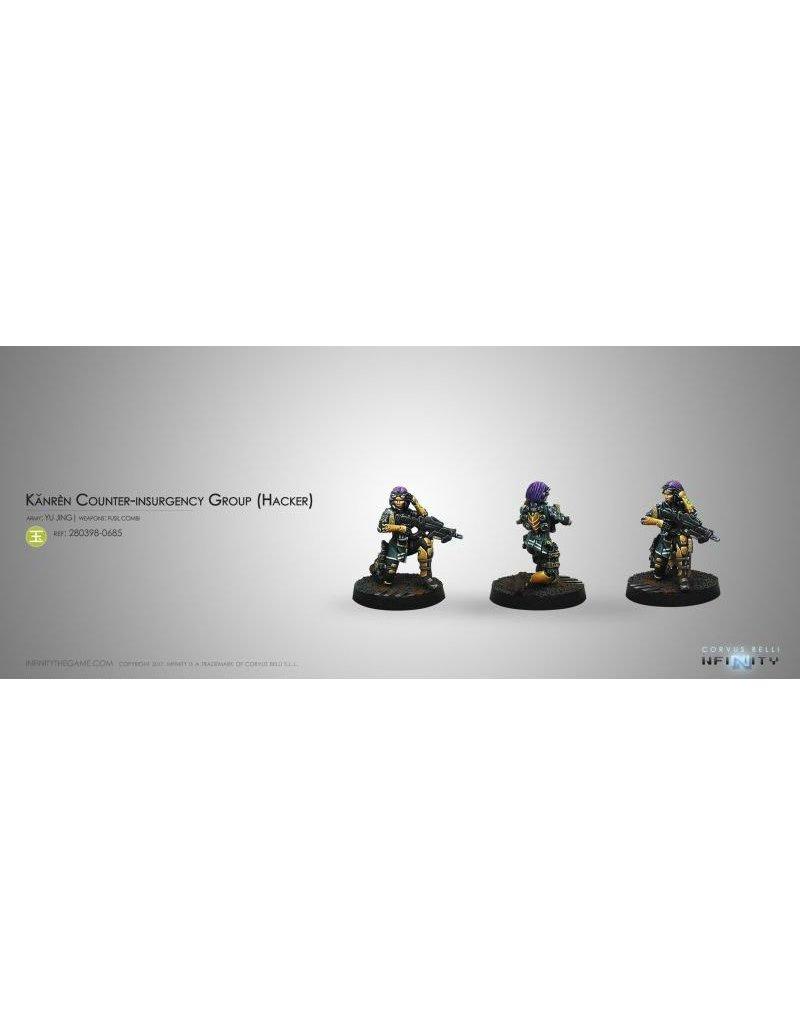 Corvus Belli Yu Jing Kanren Counter-insurgency Group (Hacker) Blister Pack