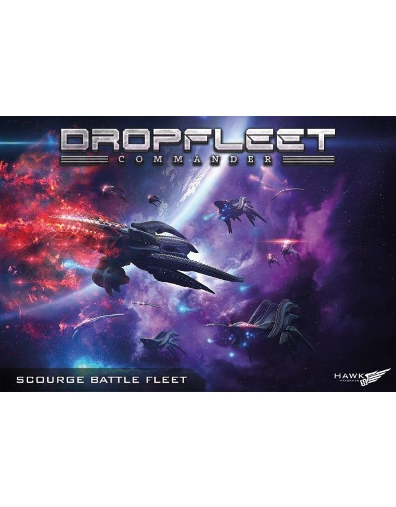 TT COMBAT Dropfleet Commander Scourge Fleet Box Set