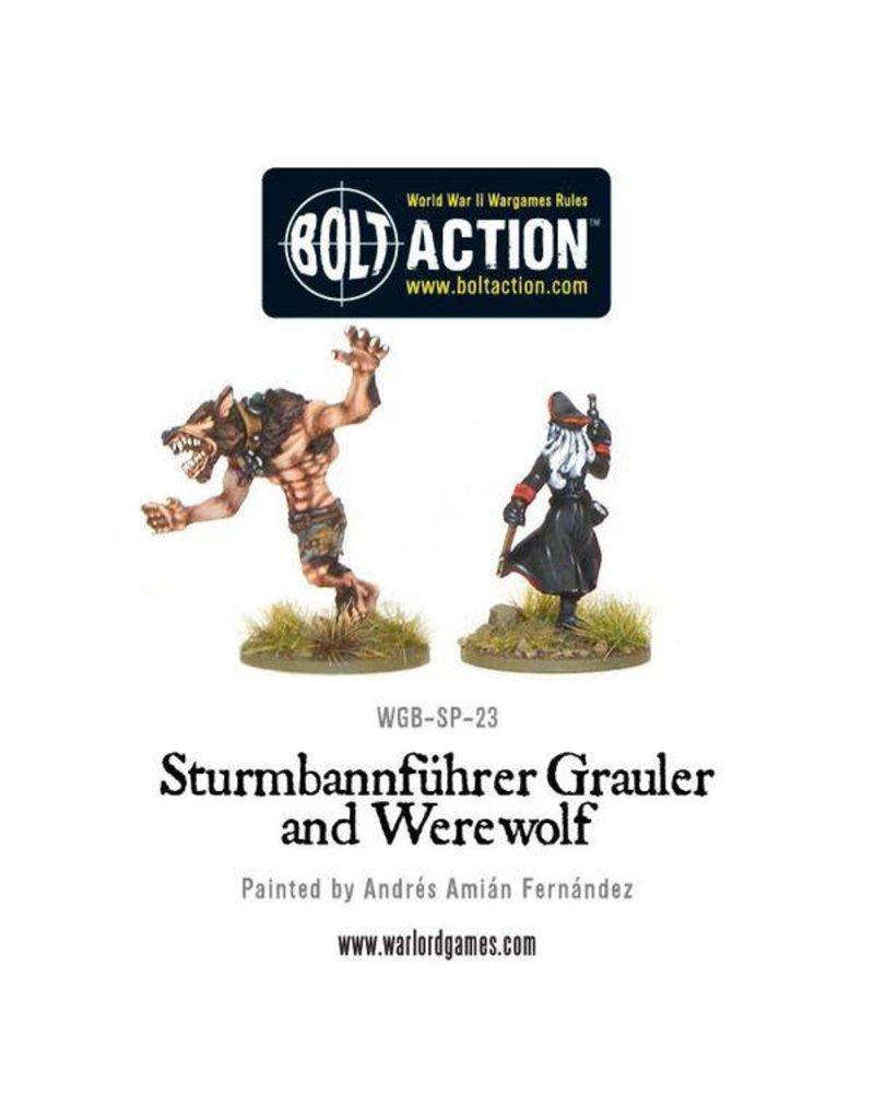 Warlord Games Wulfen SS (Frau Growler & Werewolf)