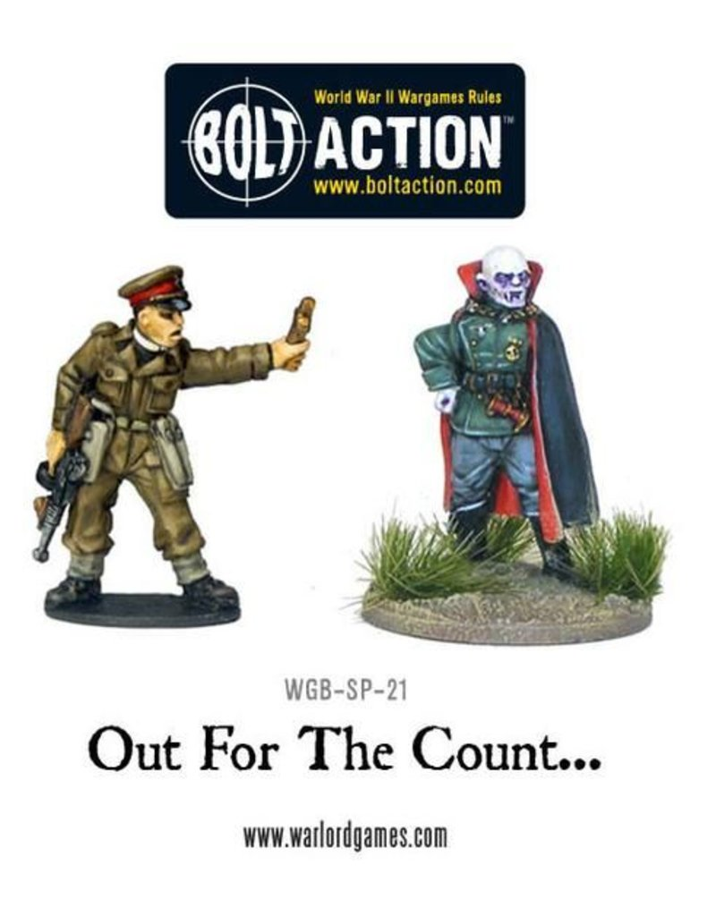 Warlord Games Out for the Count… (German Vhamphyr & British Vampire Hunter)
