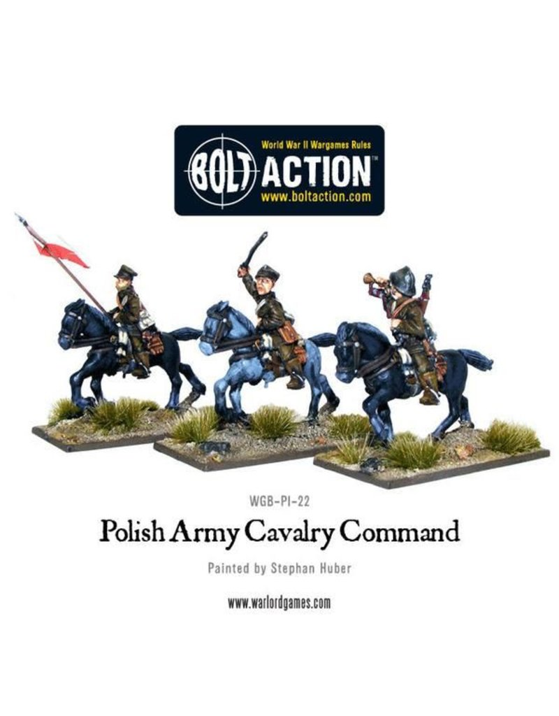 Warlord Games Polish Army Cavalry Command