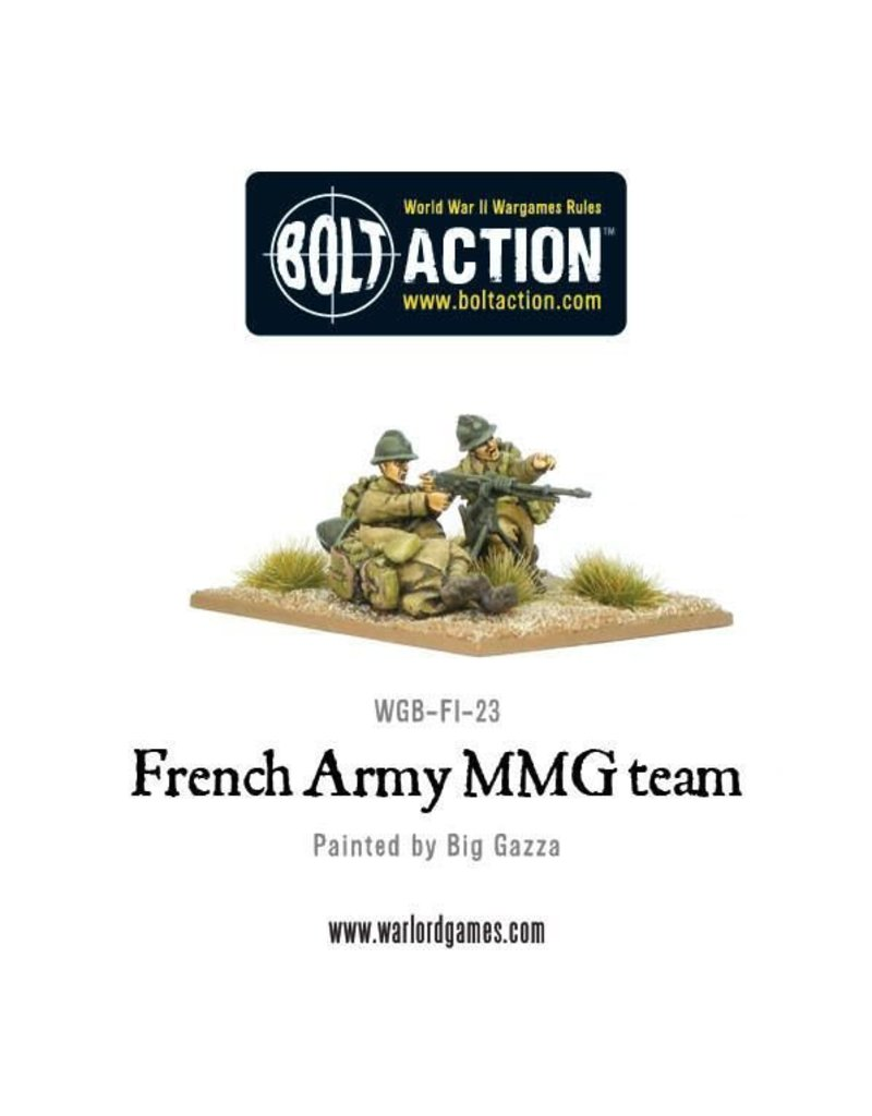 Warlord Games Early War French MMG Team