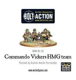 Warlord Games Commando Vickers HMG team