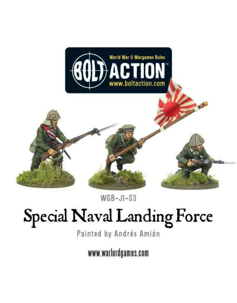 Warlord Games Japanese Special Naval Landing Force