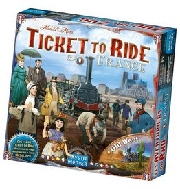 Days of Wonder Ticket To Ride France & Old West