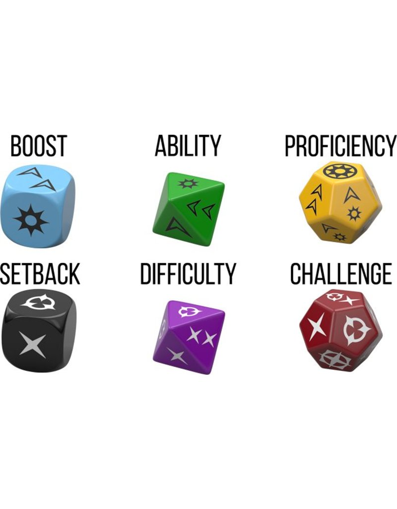 Fantasy Flight Games Genesys: A Narrative Dice System Core Rulebook