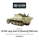 Warlord Games German Sd.Kfz 251/9 Ausf D (Stummel) Half track