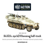 Warlord Games German Sd.Kfz 251/1 Ausf D Hanomag Half Track