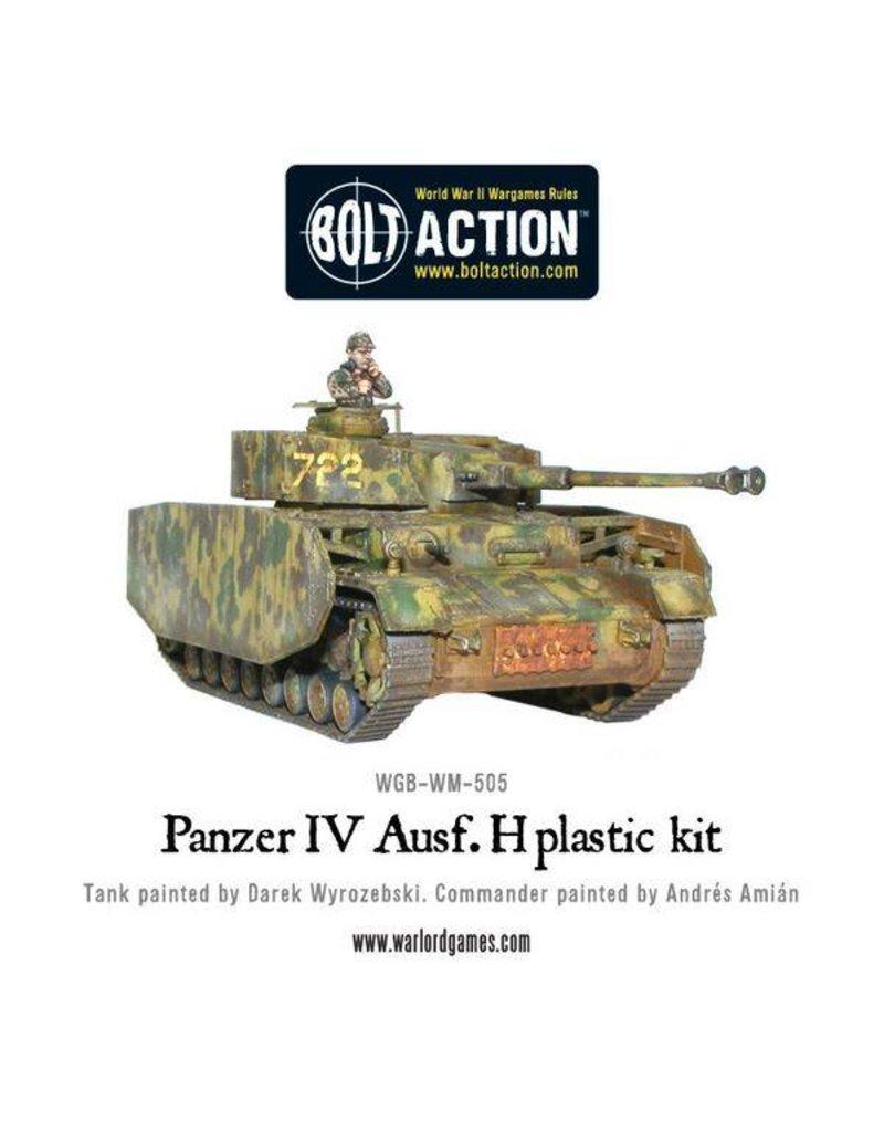 Warlord Games German Panzer IV Ausf. F1/G/H Medium Tank