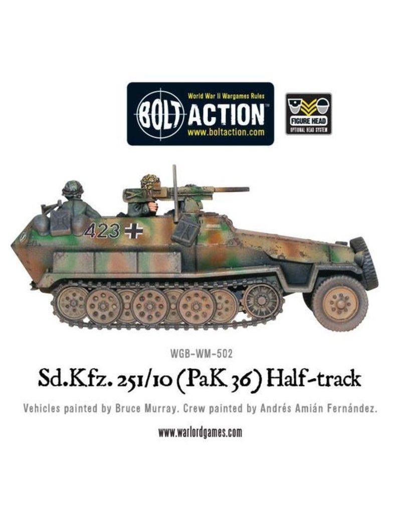 Warlord Games German Sd.Kfz 251/10 Pak 36 Half-Track