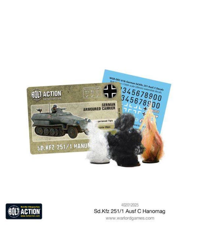 Warlord Games German Sd.Kfz 251/1 Ausf C Hanomag Half Track