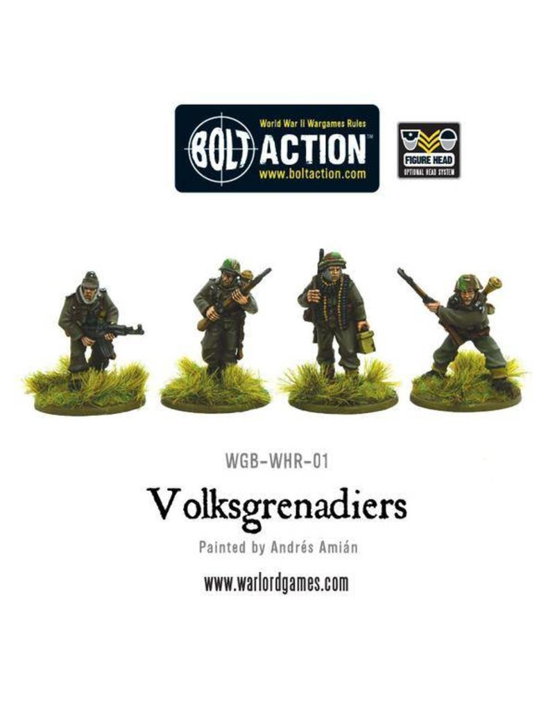 Warlord Games German Volksgrenadiers