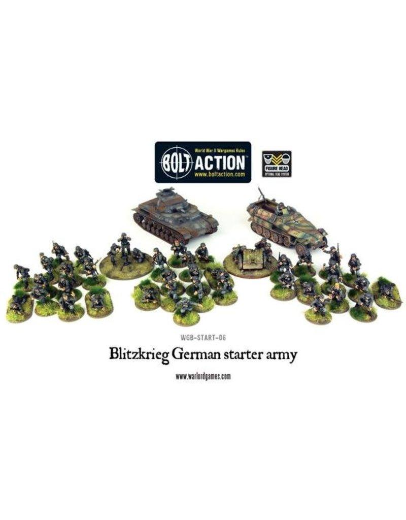 Warlord Games Blitzkrieg! German Heer Starter Army
