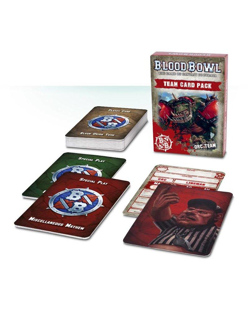 Games Workshop Blood Bowl Orc Cards (EN)