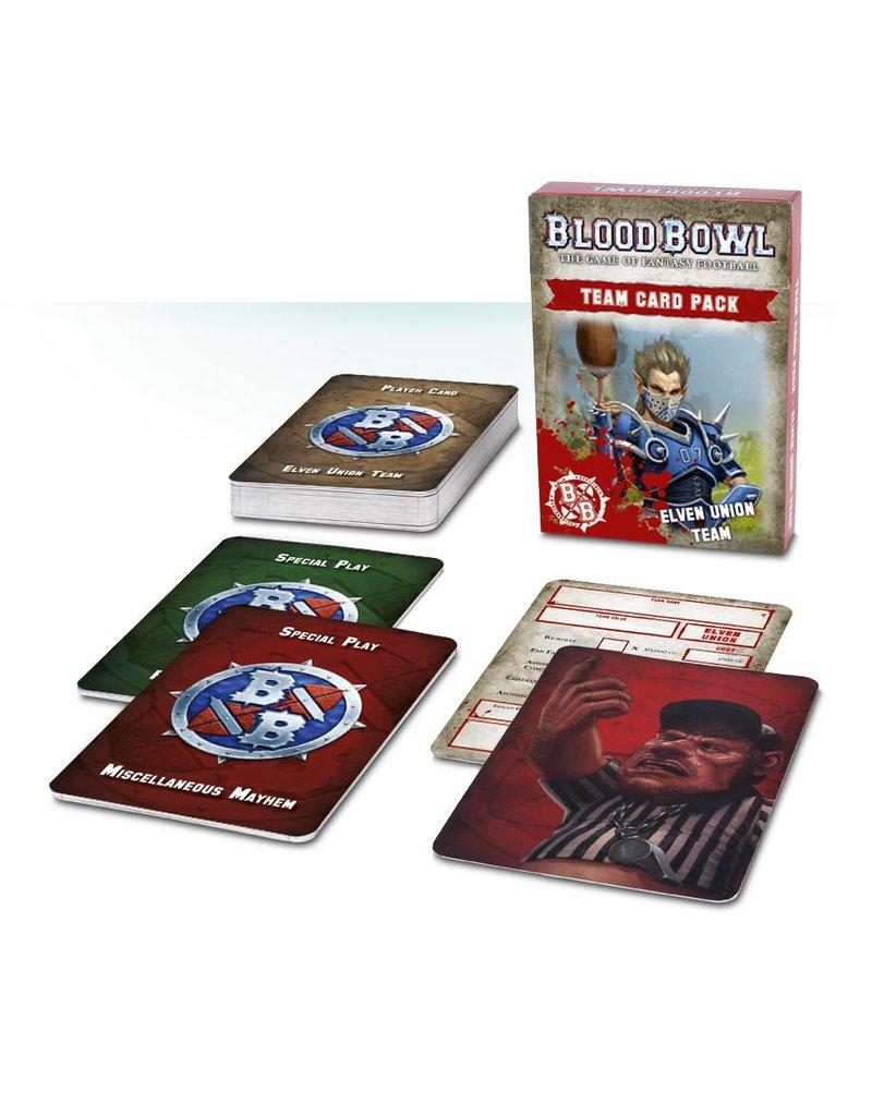 Games Workshop Blood Bowl: Elven Union Cards (EN)