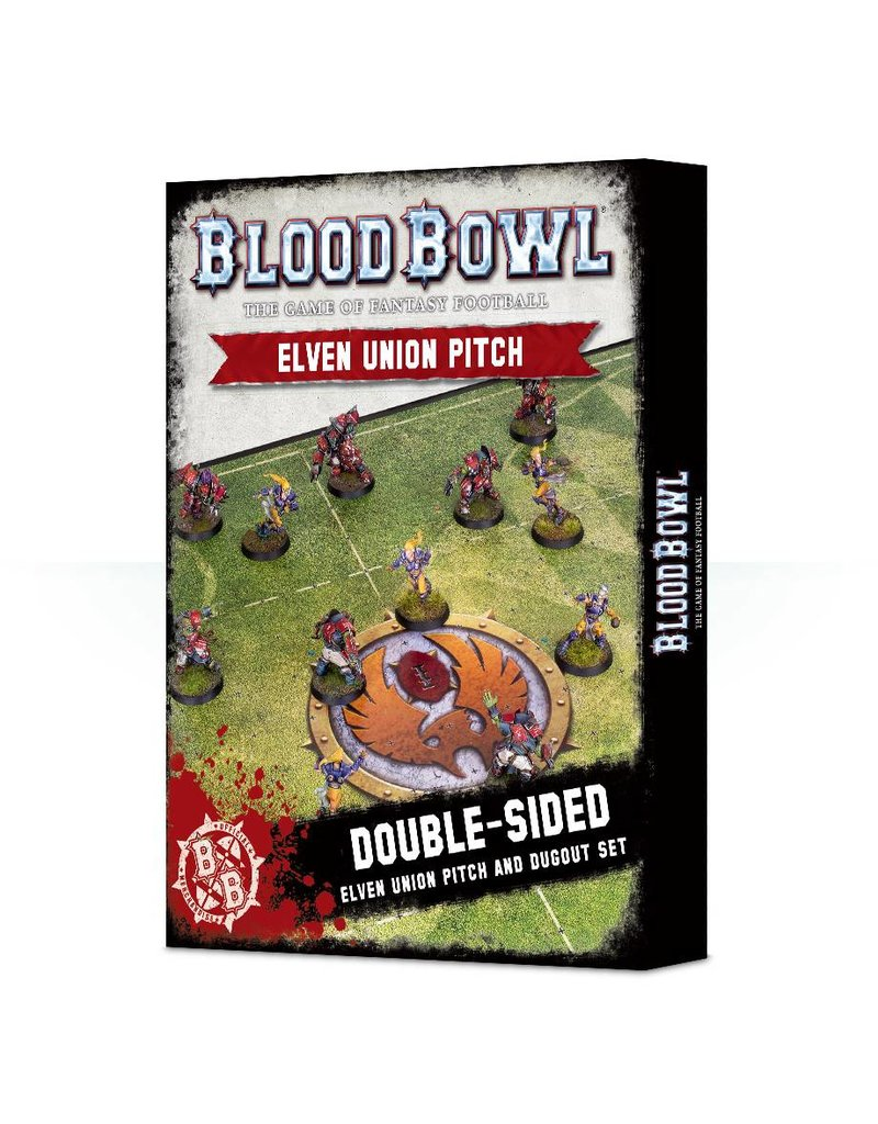 Games Workshop Blood Bowl Elf Pitch & Dugouts