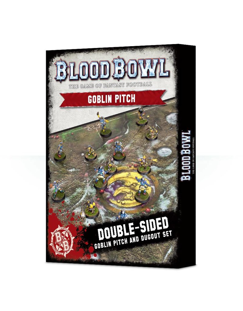Games Workshop Blood Bowl: Goblin Pitch & Dugouts
