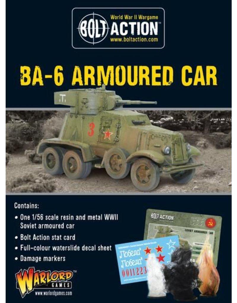 Warlord Games Soviet BA-6 Armoured Car