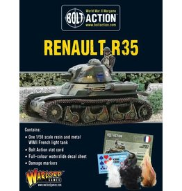 Warlord Games Renault R-35 Tank