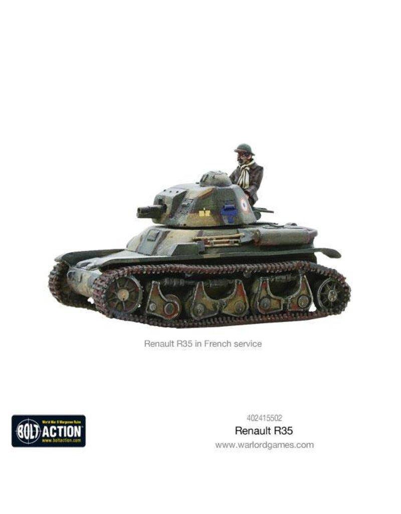 Warlord Games Renault R-35 Tank