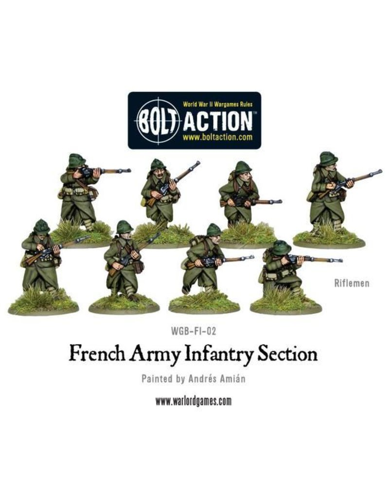 Warlord Games French Infantry Section