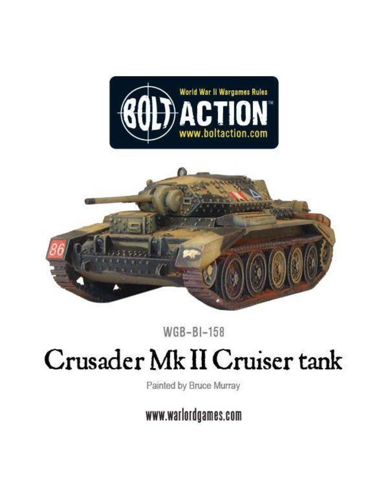 Warlord Games British Crusader Tank