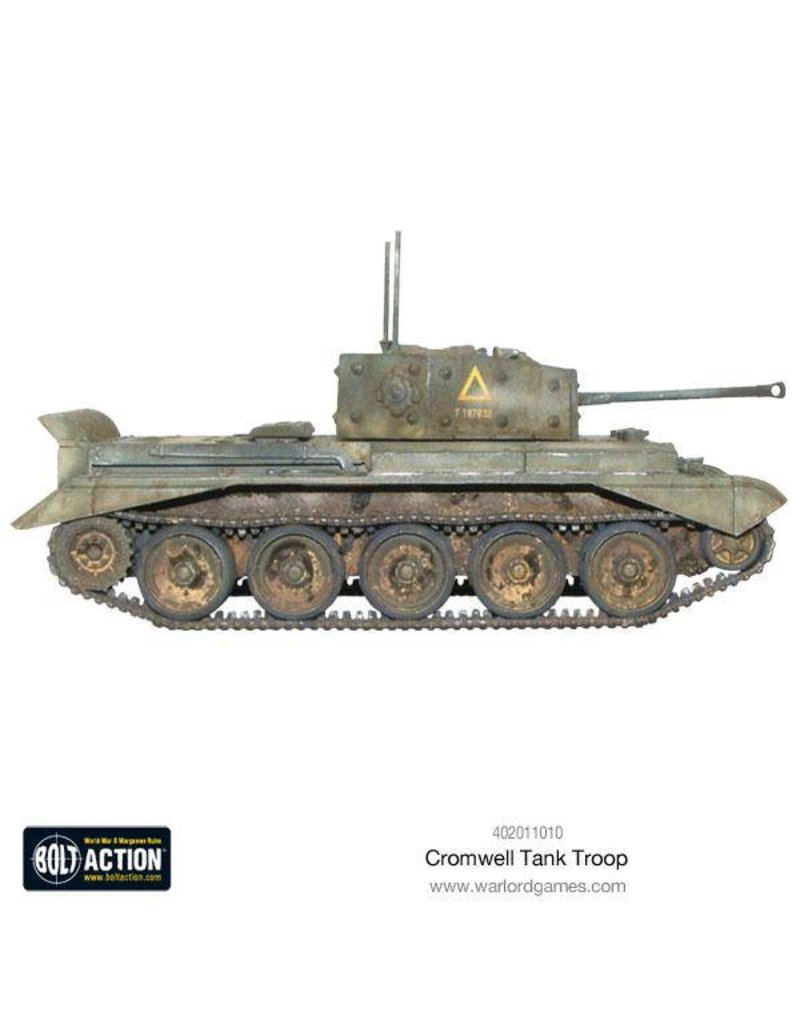 Warlord Games British Cromwell Tank Troop