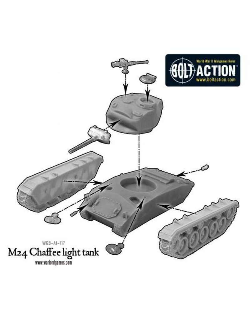 Warlord Games US Army M24 Chaffee US Army Light Tank