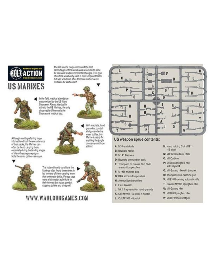 Warlord Games US Army Marine Corps