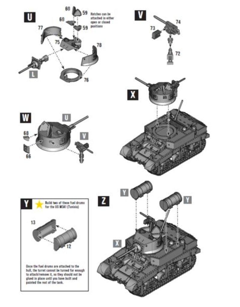Warlord Games US Army M3 Stuart Platoon